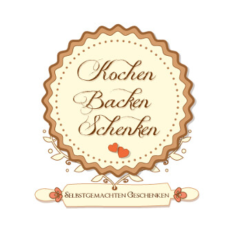 Kochen Backen Schenken Online Shop Logo Design