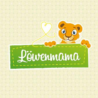 Löwenmama Kinder Online Shop Logo Design
