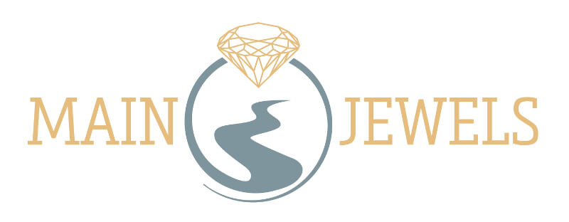 Logo Design Online Shop Juwelier mainjewels