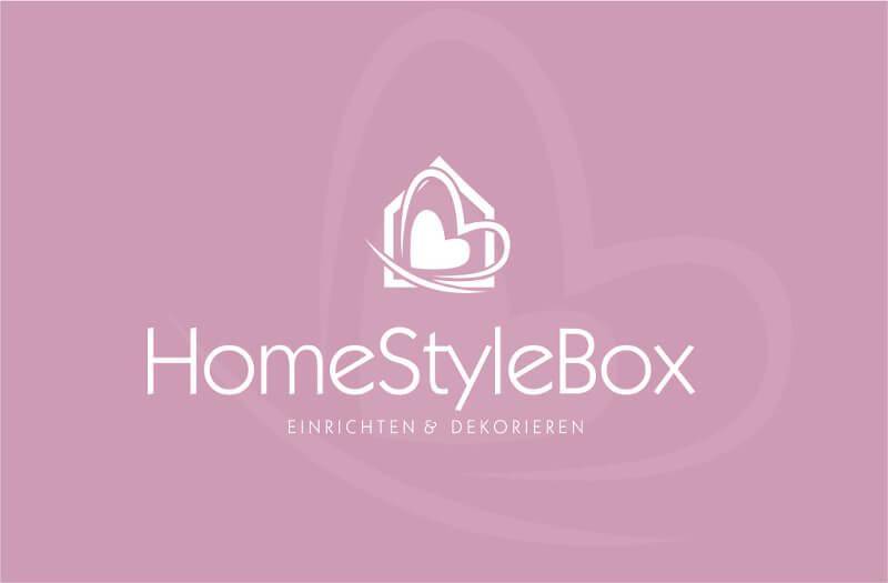 Deko Online Shop Logo HomeStyleBox Einrichten Wohnen