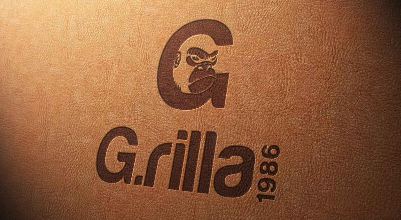 Logo Online Shop Kleidung G.rilla