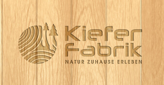 Kiefer Fabrik Logo Online Shop Holz Haus