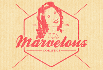 Logo Online Shop Beauty Miss Marvelous Cosmetics