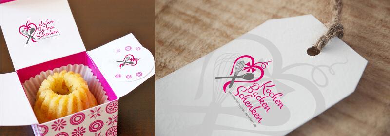 Logo Online Shop Geschenke Kochen Backen Schenken