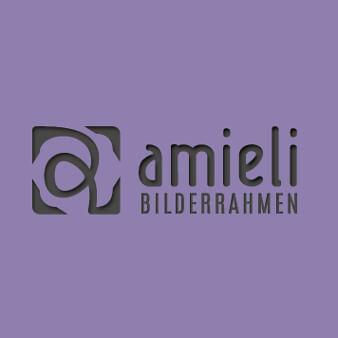 Online Handel Logo Design amieli Bilderrahmen