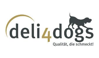 deli 4 dogs logo hunde online shop