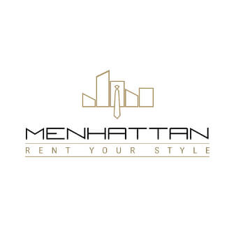 Logo Online Shop Herrenmode Menhattan Rent your Style