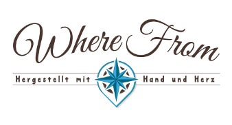 where from lifestyle online shop logo design