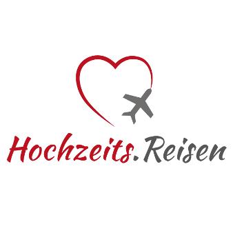 Hochzeitsreisen Reisen Logo Herz Symbol
