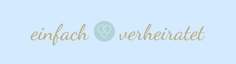 Hochzeitsplanung Herzchen Logo-Design einfach verheiratet