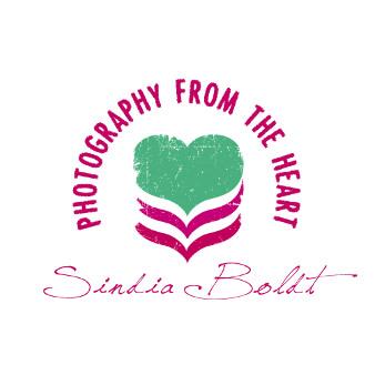 Logo mit Herz Hochzeit Fotografie Sindia Boldt