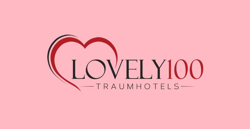 Logo Herz Symbol Reisen Hochzeit Lovely100 Traumhotels