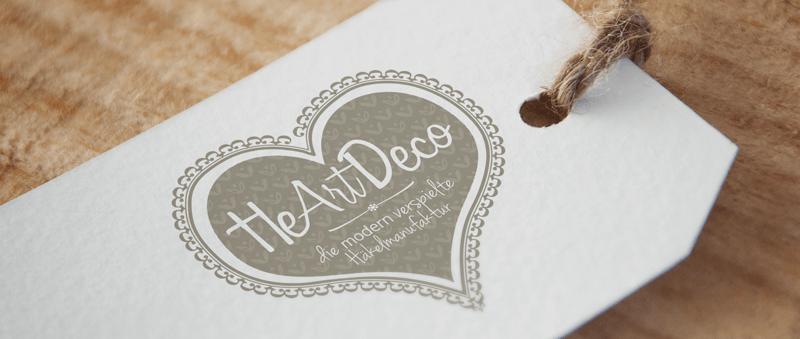 Herz Logo Online Shop HeArt Deco 434153