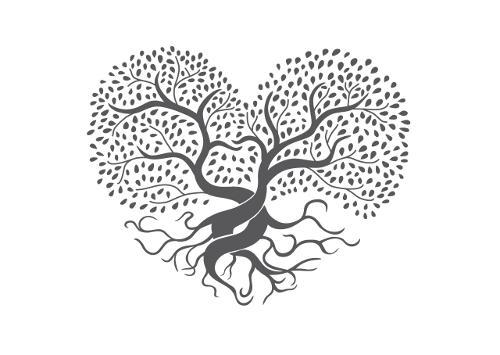 Logo-Design Herz Online Shop