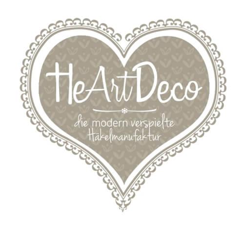 Herz Logo Häkelmanufaktur Online-Shop HeArtDeco