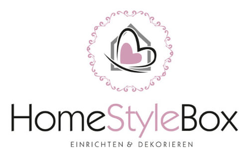 Logo Herz HomeStyleBox Dekoration Online-Shop