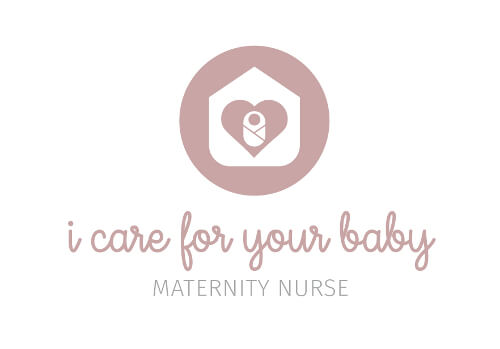 Gesundheit I Care For Your Baby Herz Logo-Design