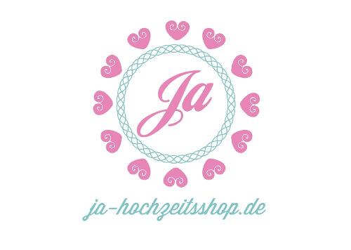 Logo Online-Shop Hochzeitsshop Ja