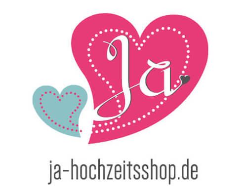 Logo Ja Hochzeit Online-Shop