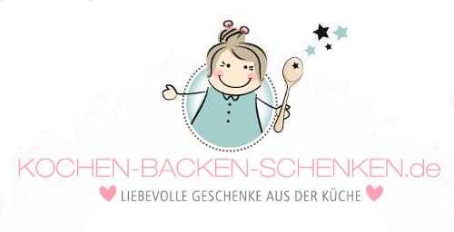 Kochen Backen Schenken Logo Essen