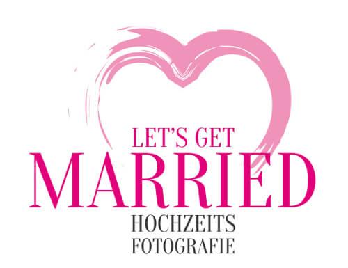 Logo Hochzeitsfotografie Let's Get Married