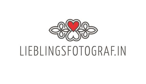Hochzeitsfotografie Logo-Design Lieblingsfotografin