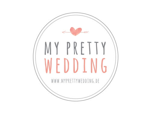 Herz Logo Online-Shop My Pretty Wedding