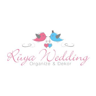 Hochzeitsplanung Herz Logo Rüya Wedding
