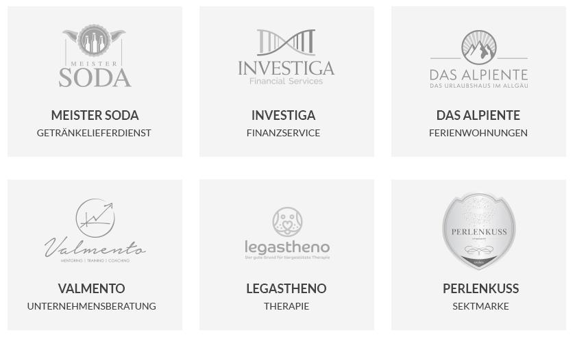 Beispiele Firmennamen auf designenlassen.de