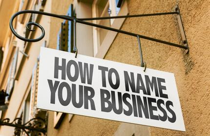 Namensfindung Unternehmen Firmenname finden