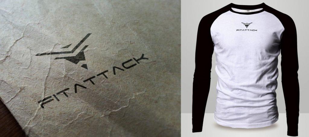 Kosten Logo-Design FitAttack Fitness Marke Brand