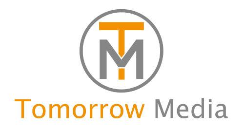 tomorrow media startup-logo design marketing