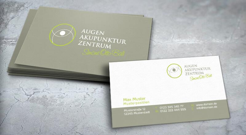 Augen Akupunktur Logo Augenarzt