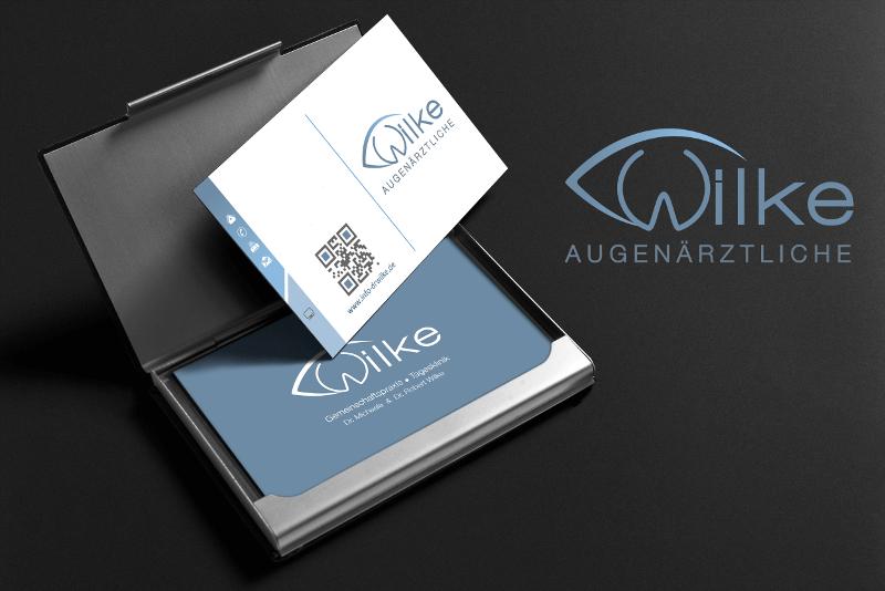 Augenarzt Logo Dr. Wilke