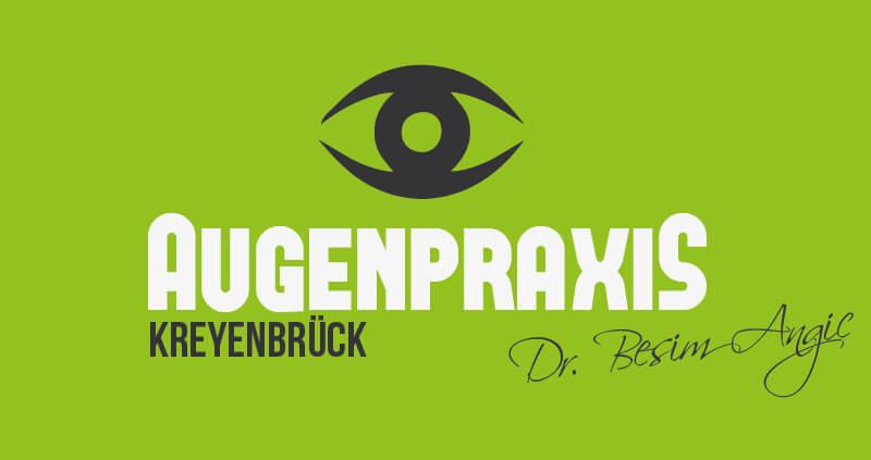Augenarzt Logo Kreyenbrück Angic