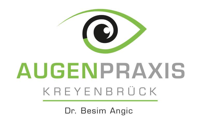Augenarzt Praxis Logo Dr. Angic