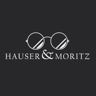 Hauser & Moritz Augenoptiker Logo Design