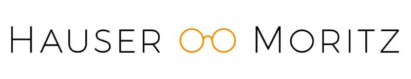 Hauser und Moritz Augenoptik Logo Design