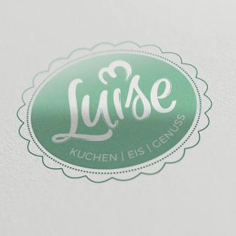 café luise logo kuchen eis genuss