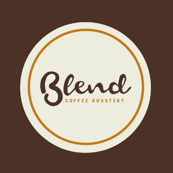 coffee roastery logo blend