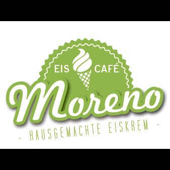eiscafé Moreno logo design