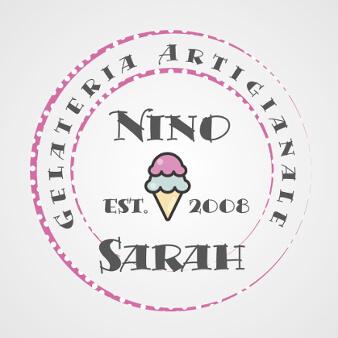 eiscafé logo gelateria nino sarah