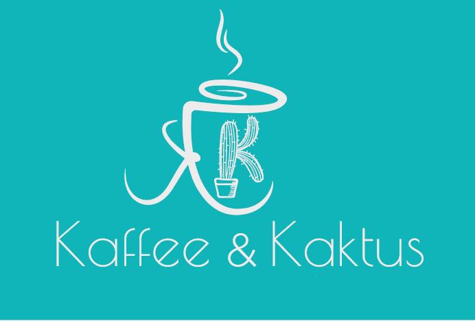 logo kaffee und kaktus design