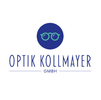 logo optik kollmayer design brille