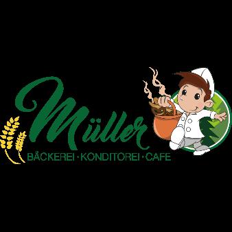 müller bäckerei konditorei café logo