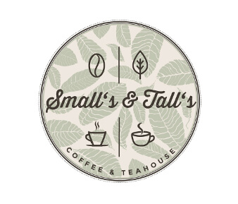smalls and talls coffee logo design