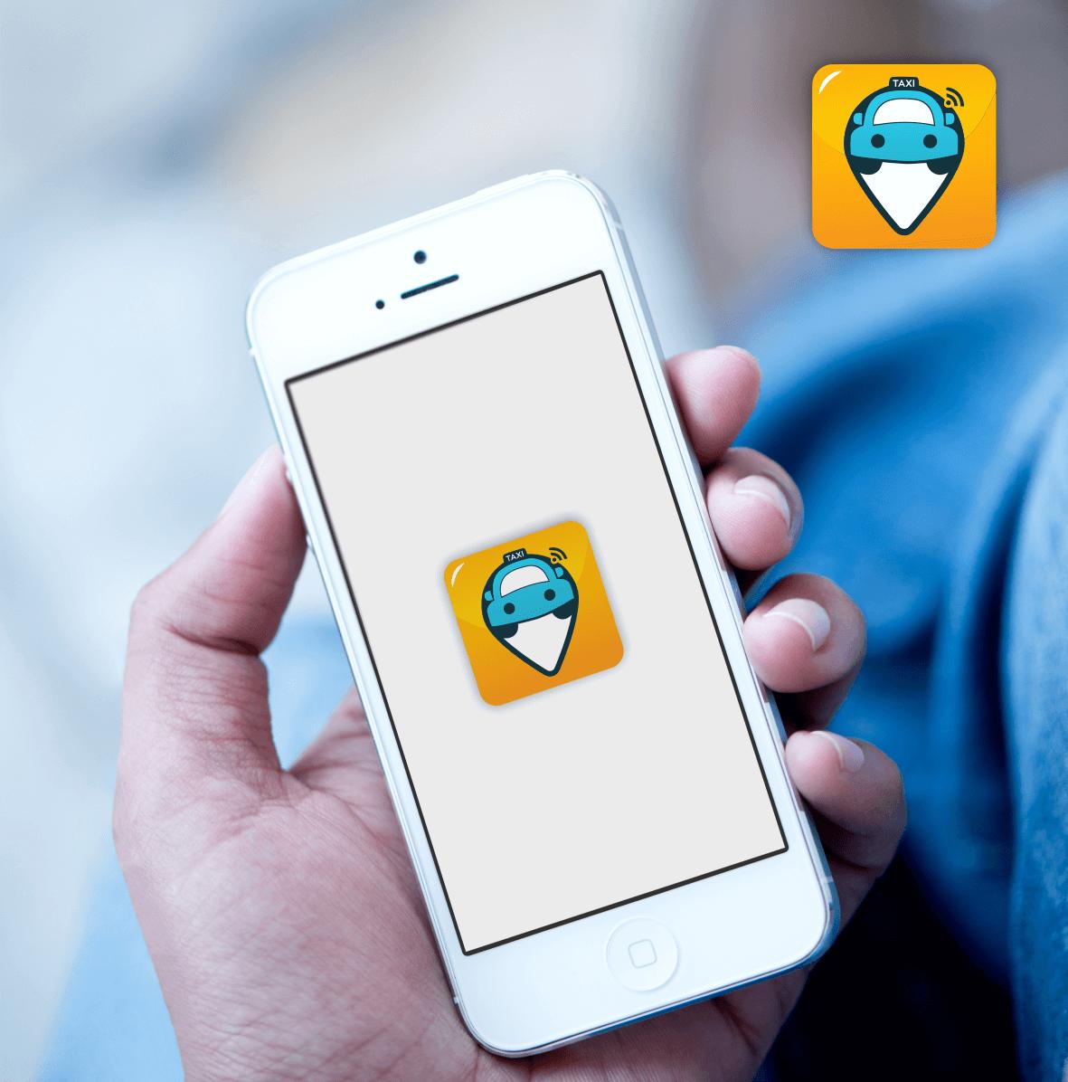 App-Icon Design Taxi App