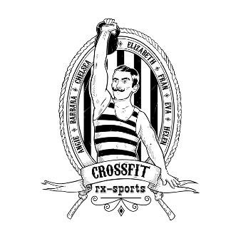 Crossfit rx-sports Logo Design Sportverein