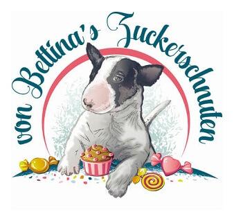 Hunde logo zuckerschnuten bull terrier