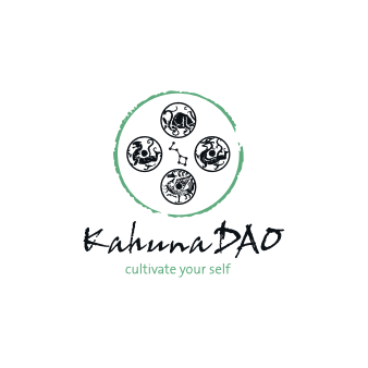 Meditation Logo Design Kahuna DAO